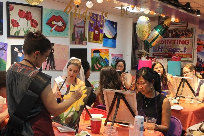 painting hangout byob