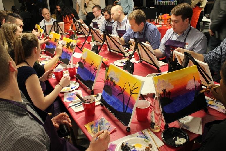 painting byob class