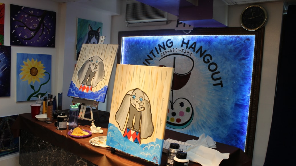 painting byob painting hangout